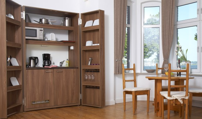 apartment 11 holm kueche pantry essplatz